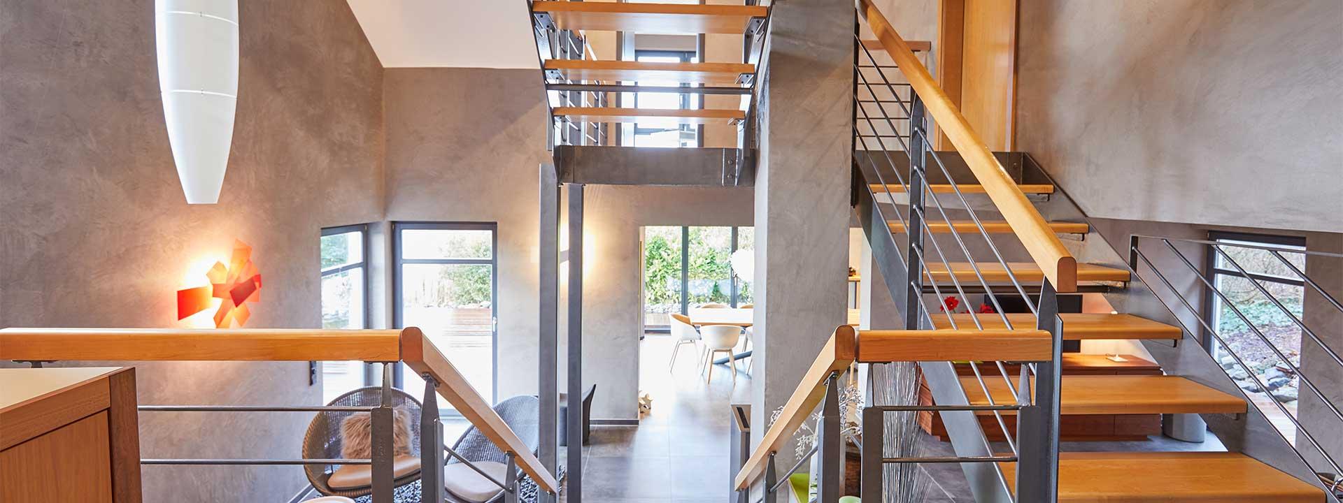 Müller & Weißling - Treppe im Wohnbereich